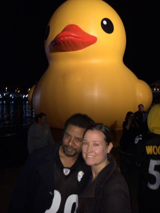 Rubber ducky, I'm awfully fond of you!