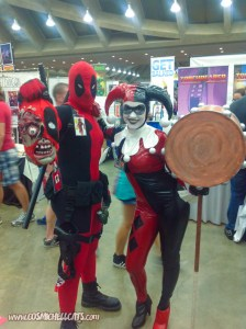 Harley and Deadpool - Baltimore Comic Con 2013-77