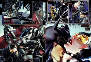 Catwoman and Batman sex