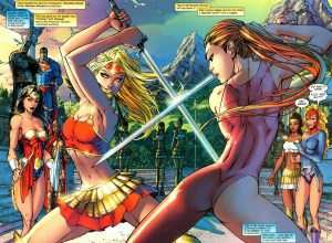 Supergirl vs. The Amazons