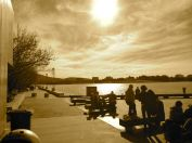 Image of Looking West Lake Burley Griffin, Canberra