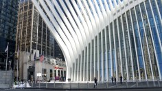 Oculus Train Station In New York
