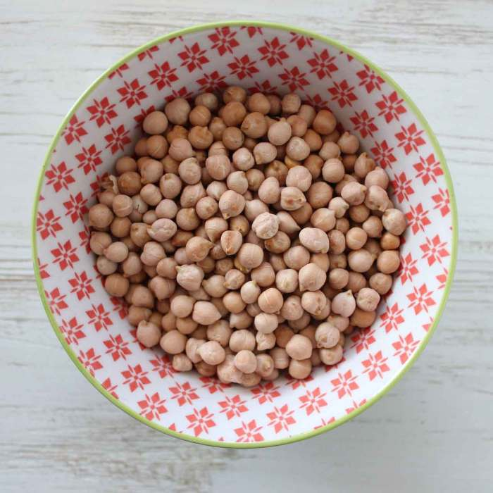 The chickpeas that changed the world