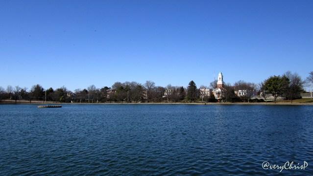 Fountain Lake at Byrd Park