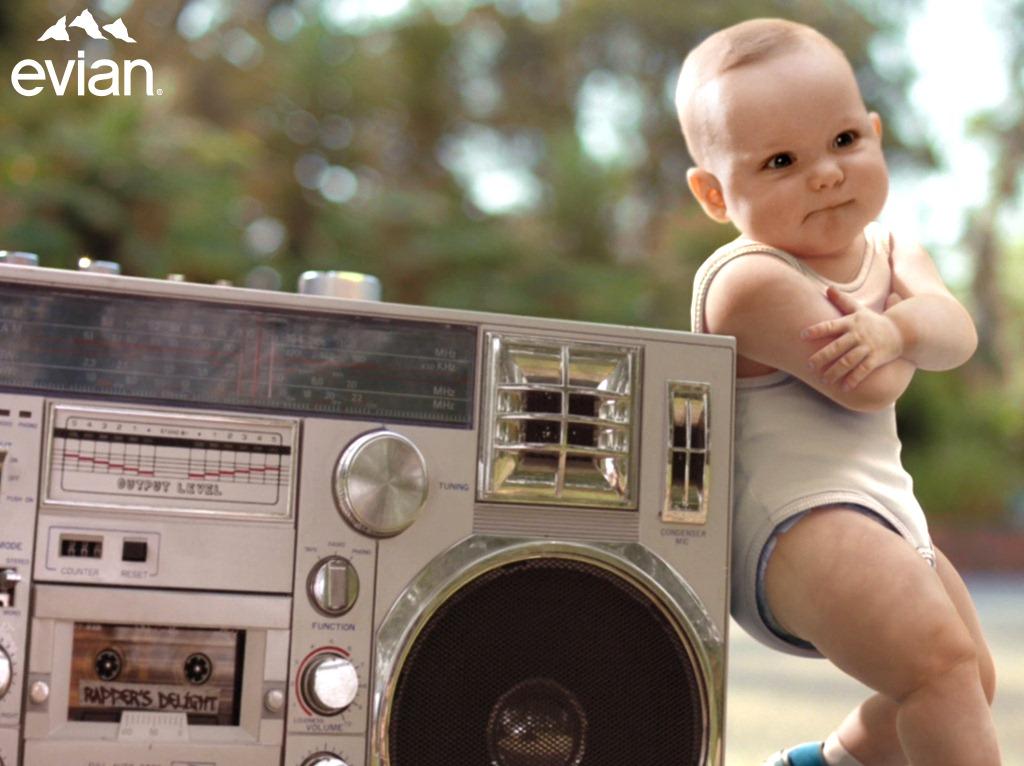 74c6d9ce8 Evian  Roller skating dancing babies ad – Chris Rawlinson