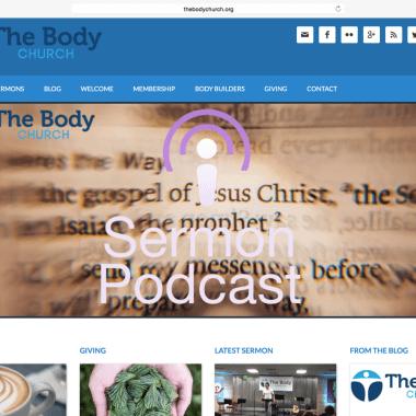 Portfolio: The Body Church