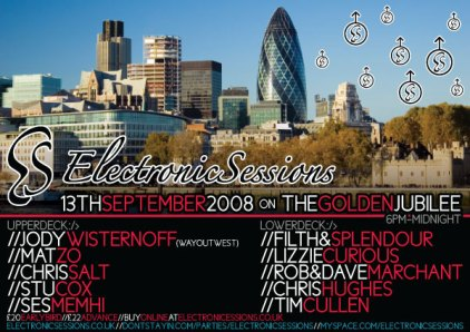 Chris Salt & Jody Wisternoff @ Electronic Sessions 2008