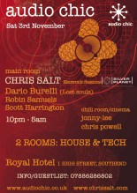 Chris Salt @ Audio Chic 2007