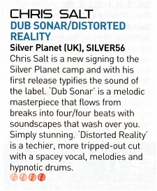 iDJ review of Chris Salt - Dub Sonar