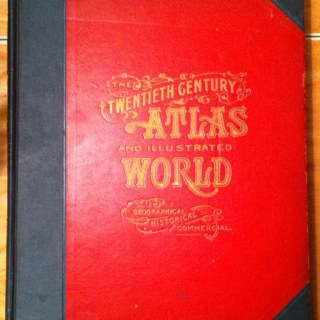 Twentieth Century Atlas and Illustrated World