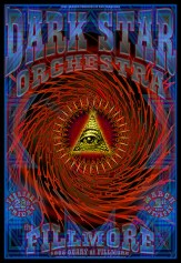 Dark Star Orchestra poster by Chris Shaw