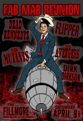 Dead Kennedys poster by Chris Shaw
