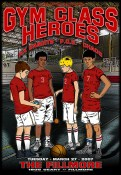 Gym Class Heroes poster by Chris Shaw