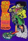 Joe Satriani poster by Chris Shaw