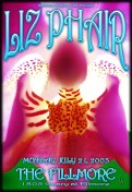 Liz Phair poster by Chris Shaw