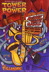 Tower Of Power poster by Chris Shaw