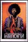 Hendrix Experience poster by Chris Shaw