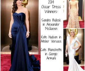 2014 Oscar Dress Winners