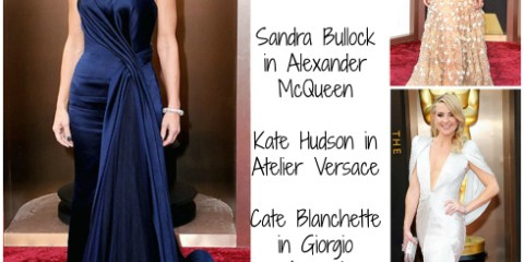2014 Oscar Dress Winners