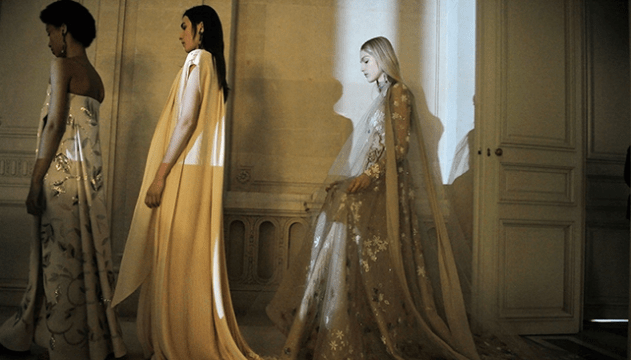 Redken's FW2017 Valentino Couture recap, hair by Guido
