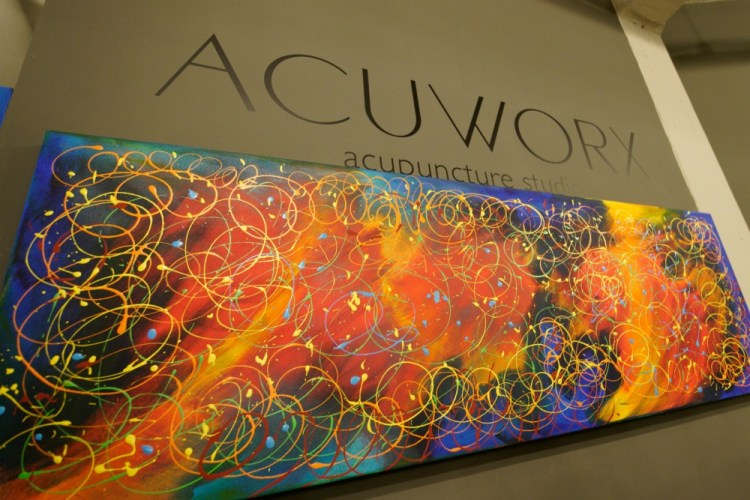 Mark Finne Acuworx Art Reception