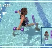 aqua yoga for a healthy back