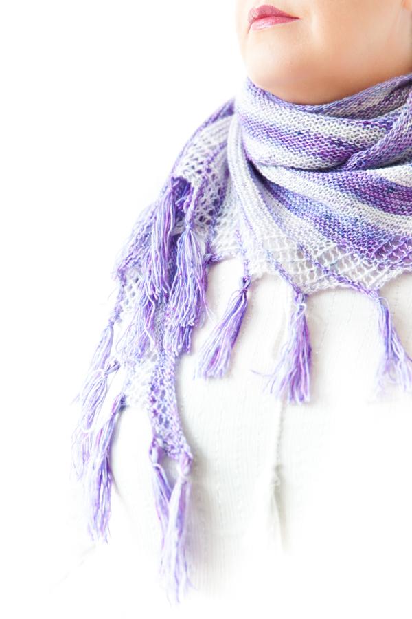 Impulsion - a lace shawl
