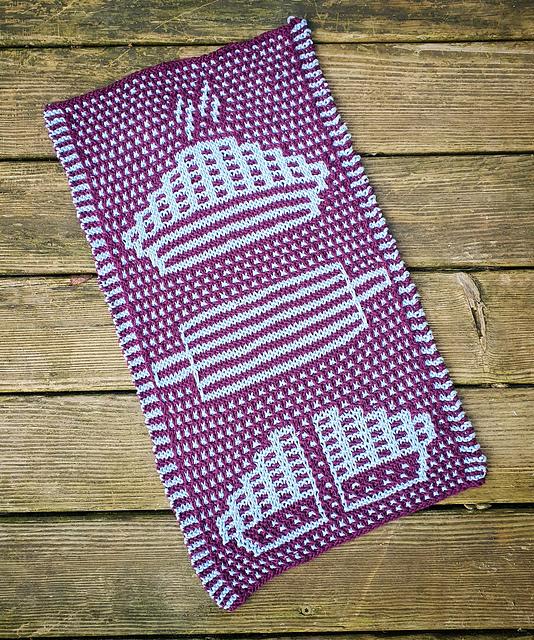 Coffee Towel in Mosaic