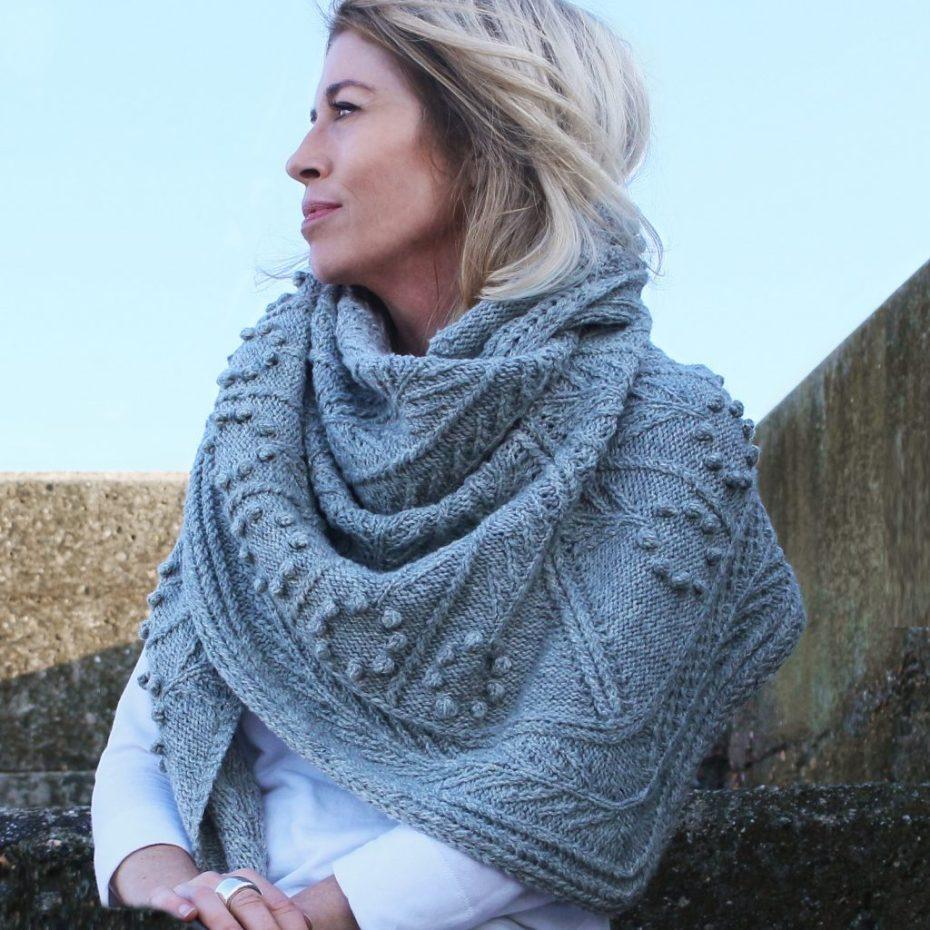 Neruda - a huage shawl