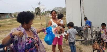 At the migrant school in Puerto Vallarta.