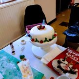 Making christmas cakes