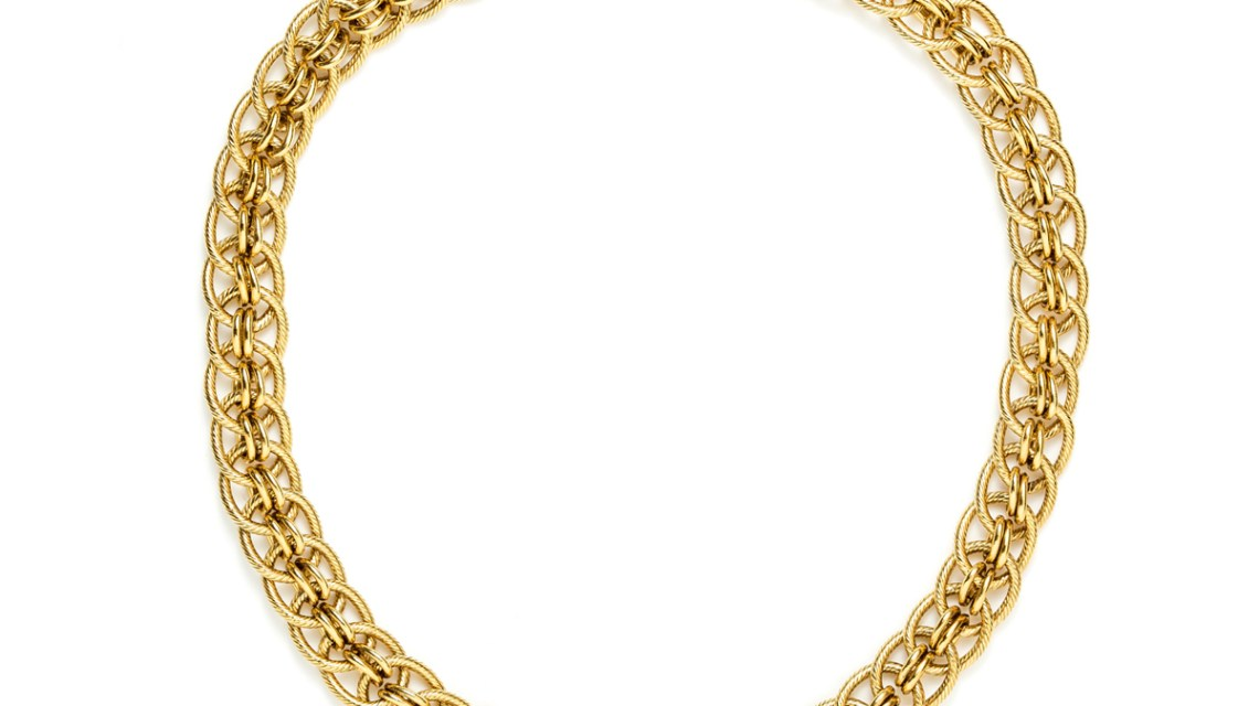 Cassandre : Necklaces chains gilded with fine gold