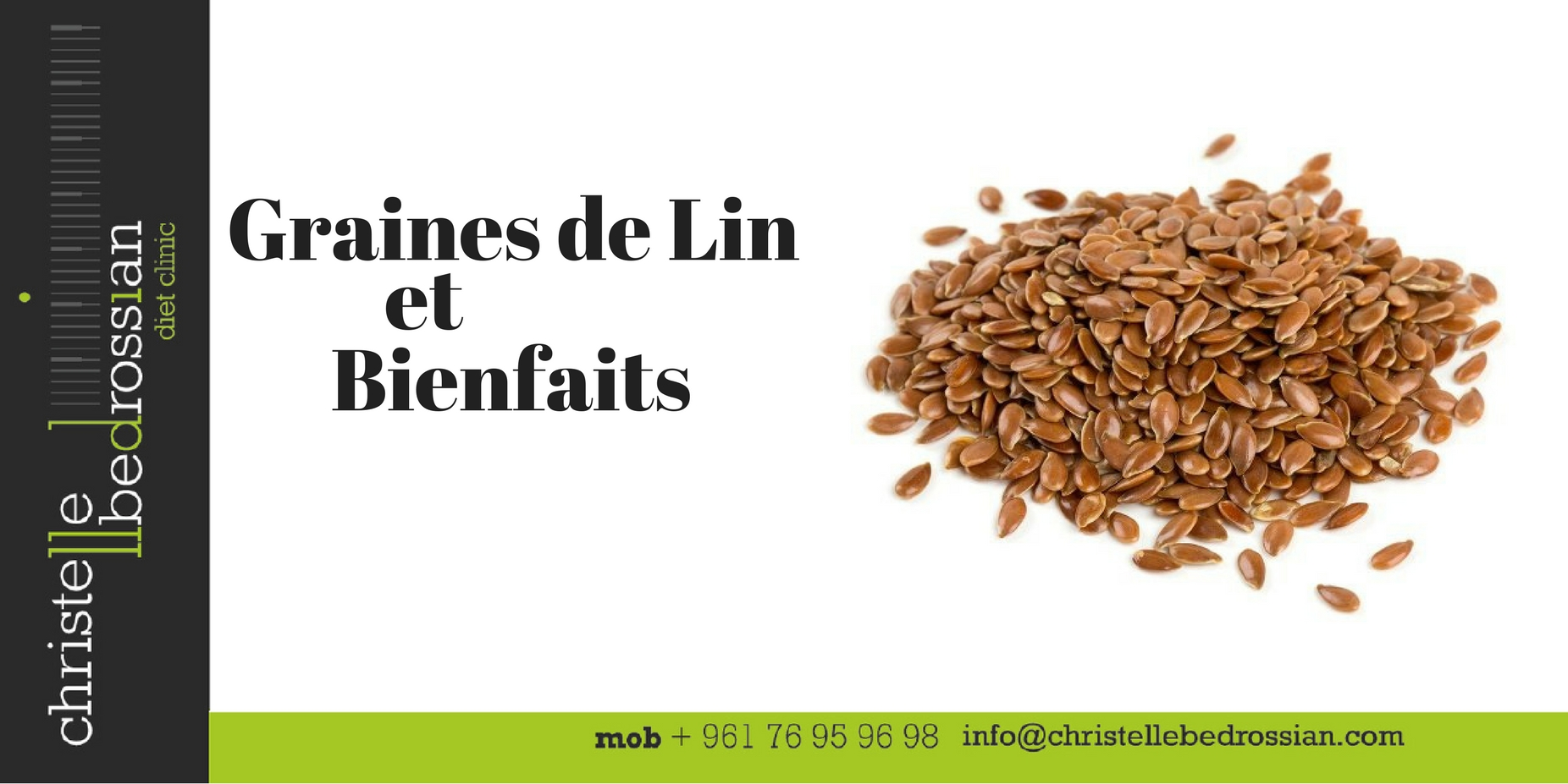 best dietitian lebanon, lebanon, diet, diet clinic, flaxseeds, benefits