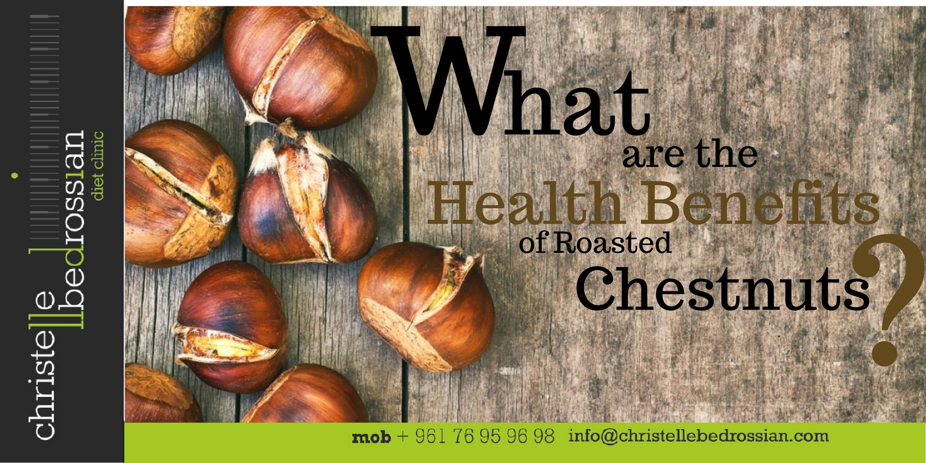 best dietitian lebanon, lebanon, diet, diet clinic, health benefits, chestnuts