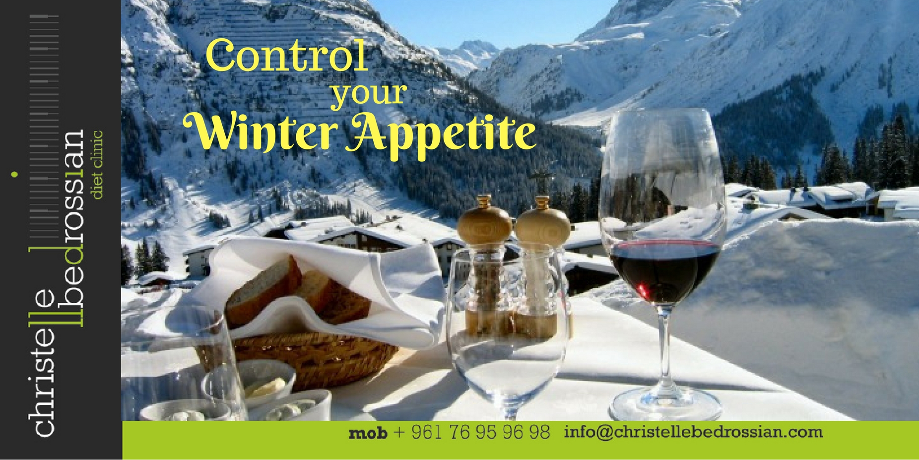 best dietitian lebanon, lebanon, diet, diet clinic, control your winter appetite
