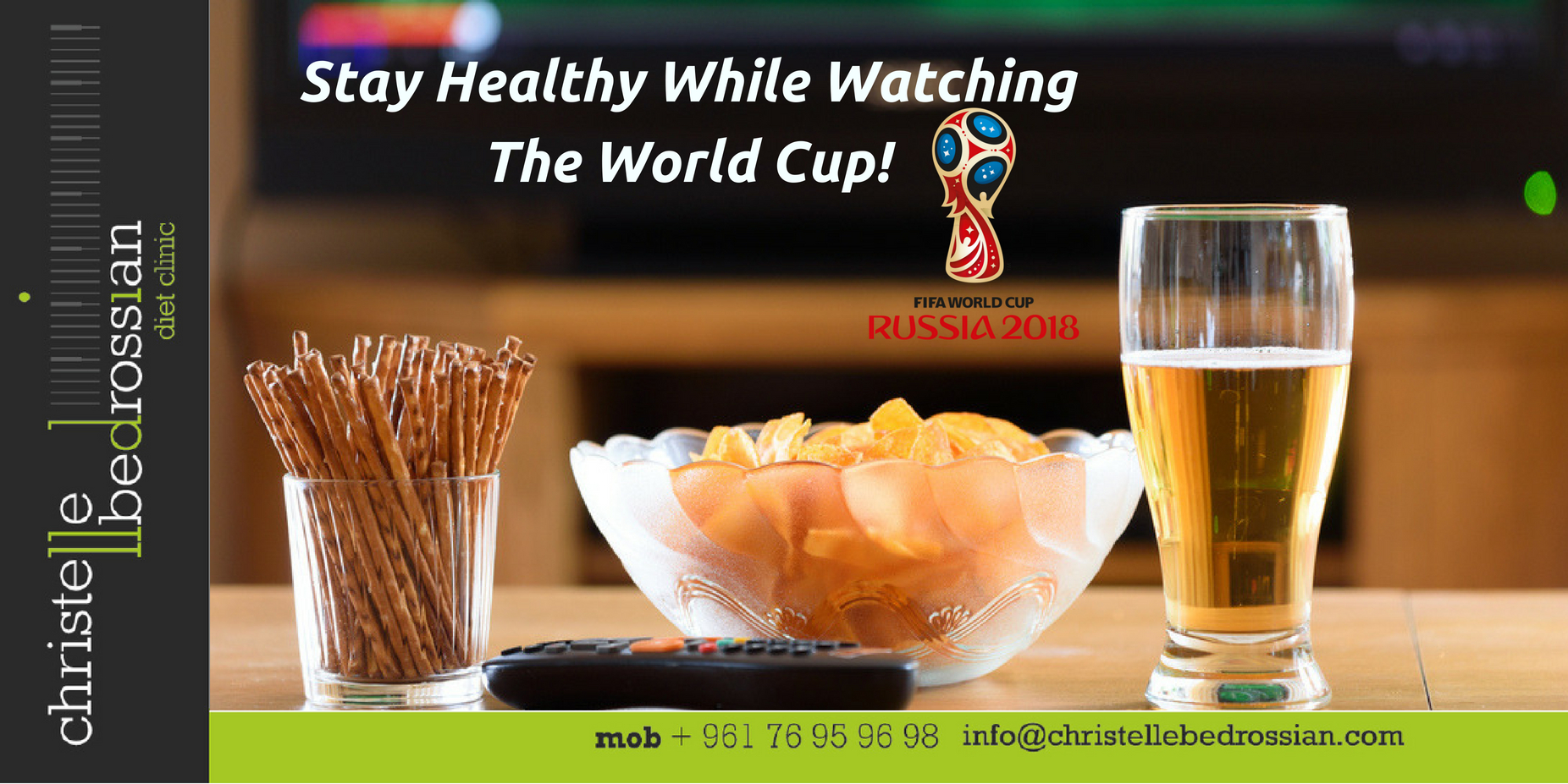 best dietitian lebanon, lebanon, diet, weight loss, healthy , snacks , world cup 2018