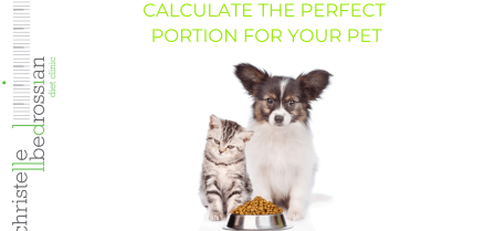 calculate the perfect portion for your pet