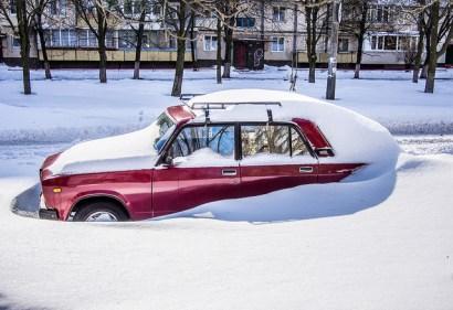 """""""Car in snow"""""""
