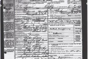 certificate of death