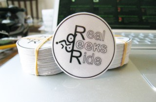 Real Geeks Ride stickers