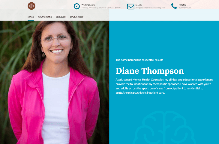 Diane Thompson Counseling