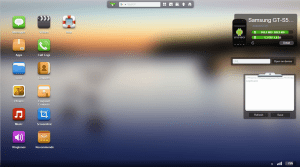Interfaz web de airdroid