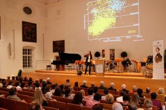 Eröffnung Christian-Doppler-Symposium, Vortrag Lisa Kaltenegger, Foto: Julia Eder, Salzburg Research