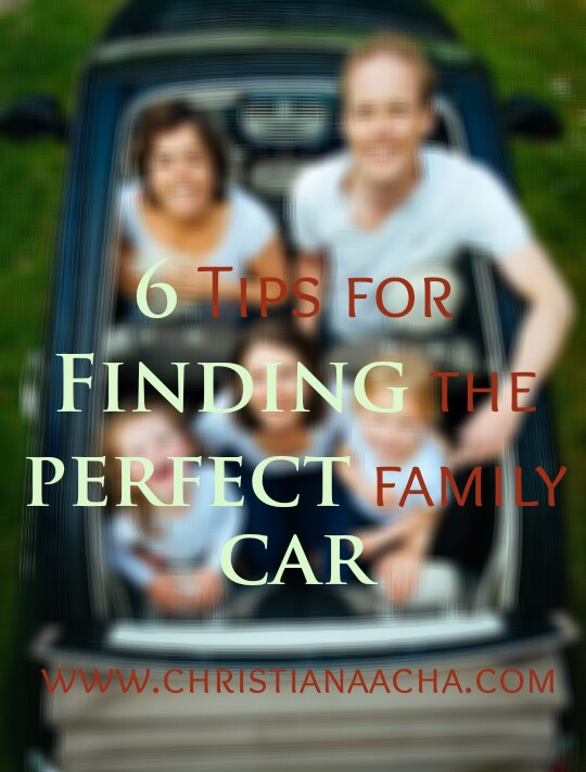 Tips for Finding the perfect family car