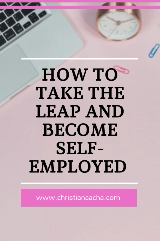 Become self-employed