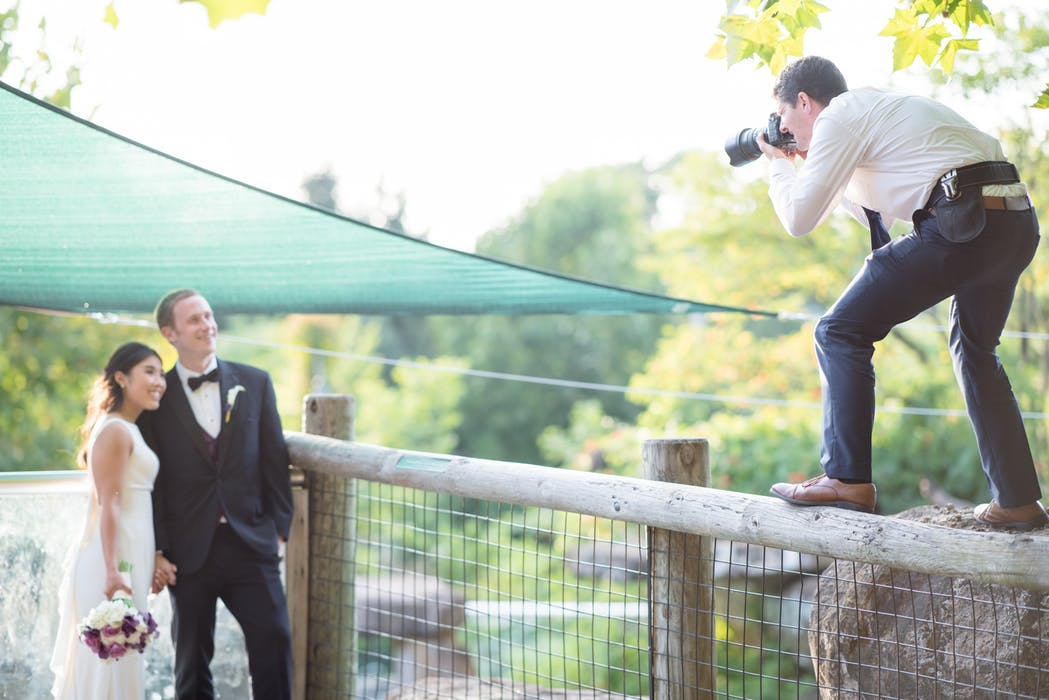 Hire professional wedding photographer