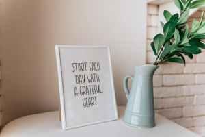 Short positive affirmations