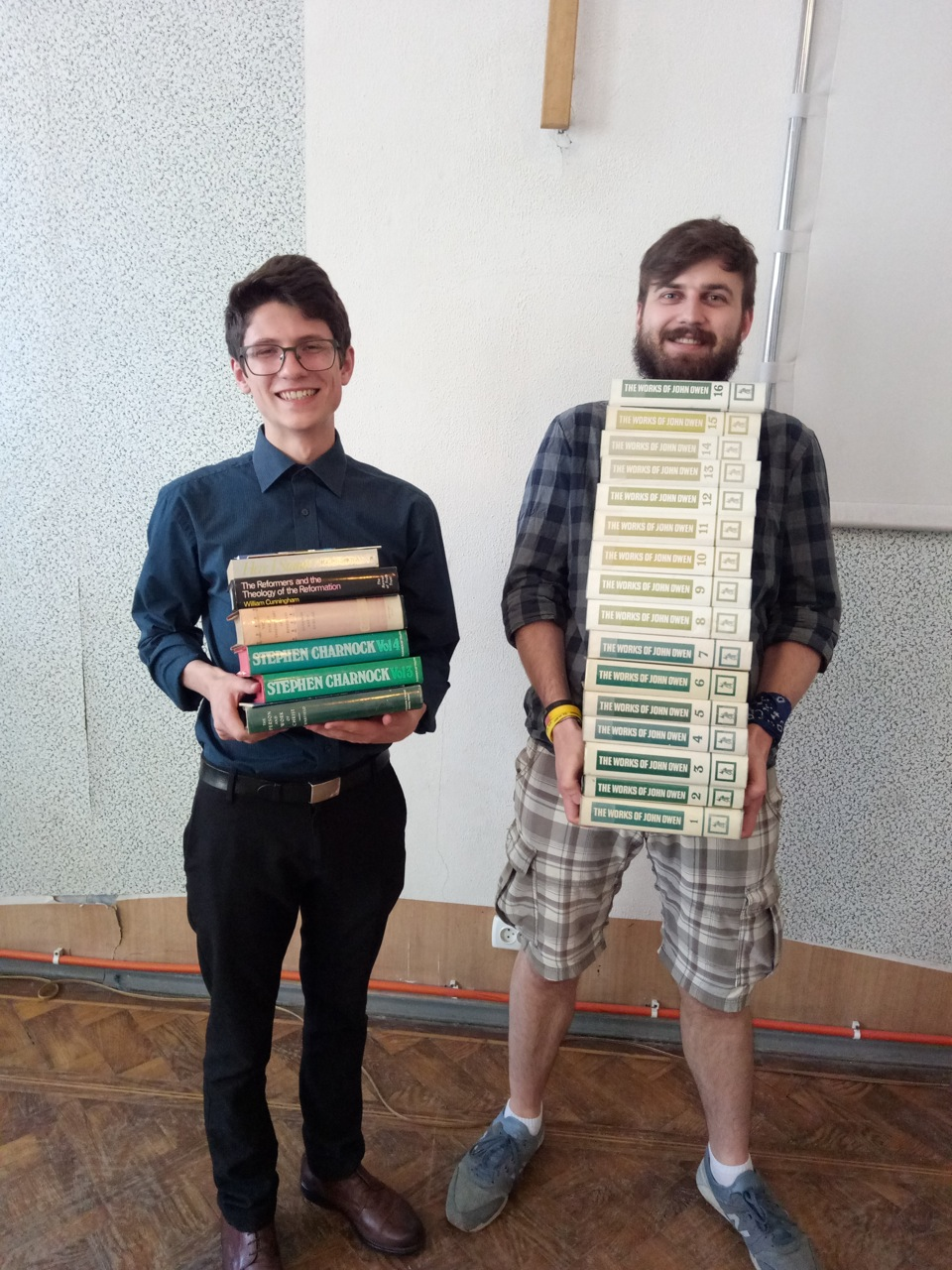 men with theology books