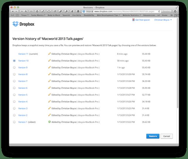 Dropbox_version_history