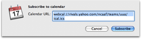 iCal subscribed calendar settings 1